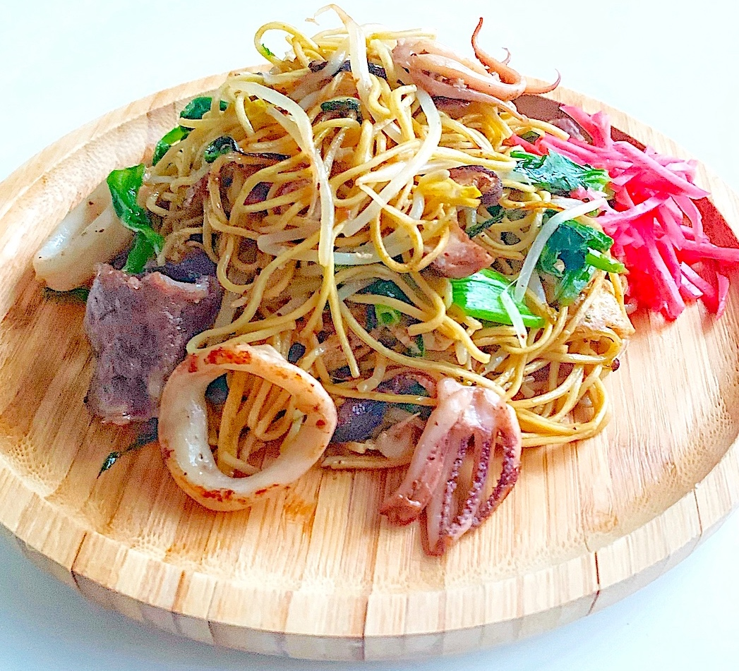 SIMPLE BUTTER SHOYU YAKISOBA